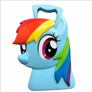 rainbow dash my little pony hardplastic hand bag☆